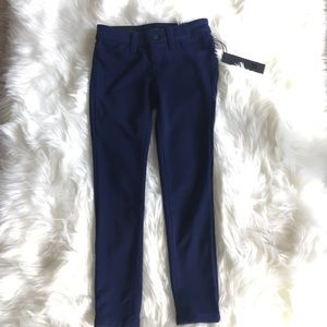 girls dark blue jeggings new with tag